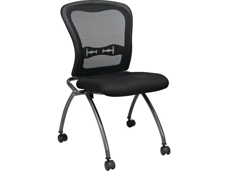 Office Star Products Deluxe Armless Folding Chair 84220 30