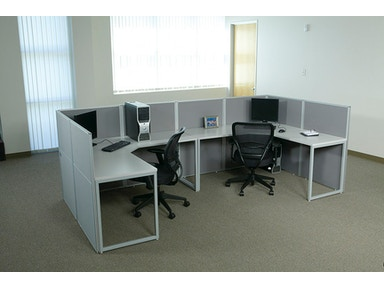 Office Star Products Configuration 4 Bxtyp4 Gry