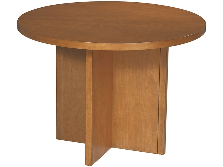 Office Star Products 42 Diameter Cherry Veneer Conference Table CT42R7