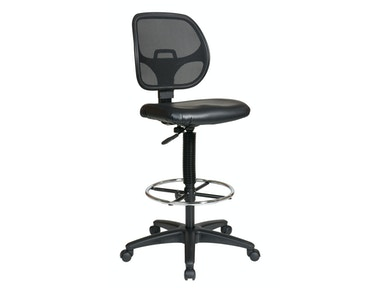 Office Star Products Deluxe Mesh Back Drafting Chair DC2990V