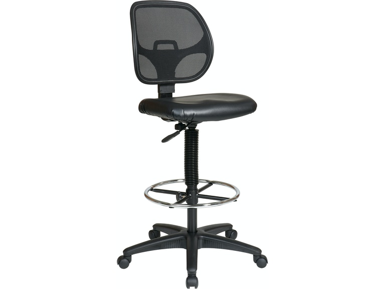 office star products home office deluxe mesh back drafting chair