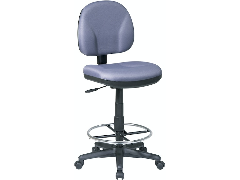 office star products home office drafting chair with stool kit dc630