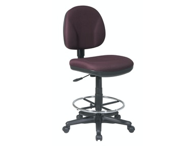 Office Star Products Drafting Chair With Stool Kit DC630-C