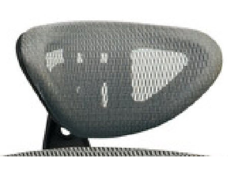 Office Star Products Grey Progrid® Headrest (headrest Fit 511342) HRX52