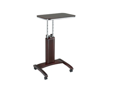 Office Star Products Precision Laptop Stand In Mahogany Finish PSN623