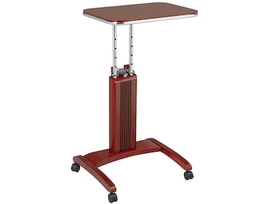 Office Star Products Precision Laptop Stand In Light Cherry Finish PSN627
