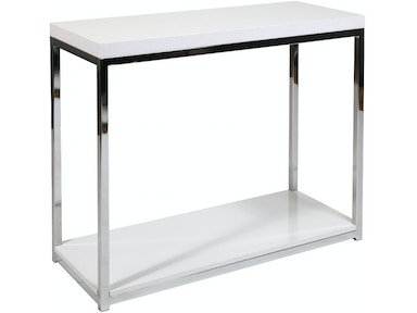Office Star Products Wall Street Foyer Table WST07-WH