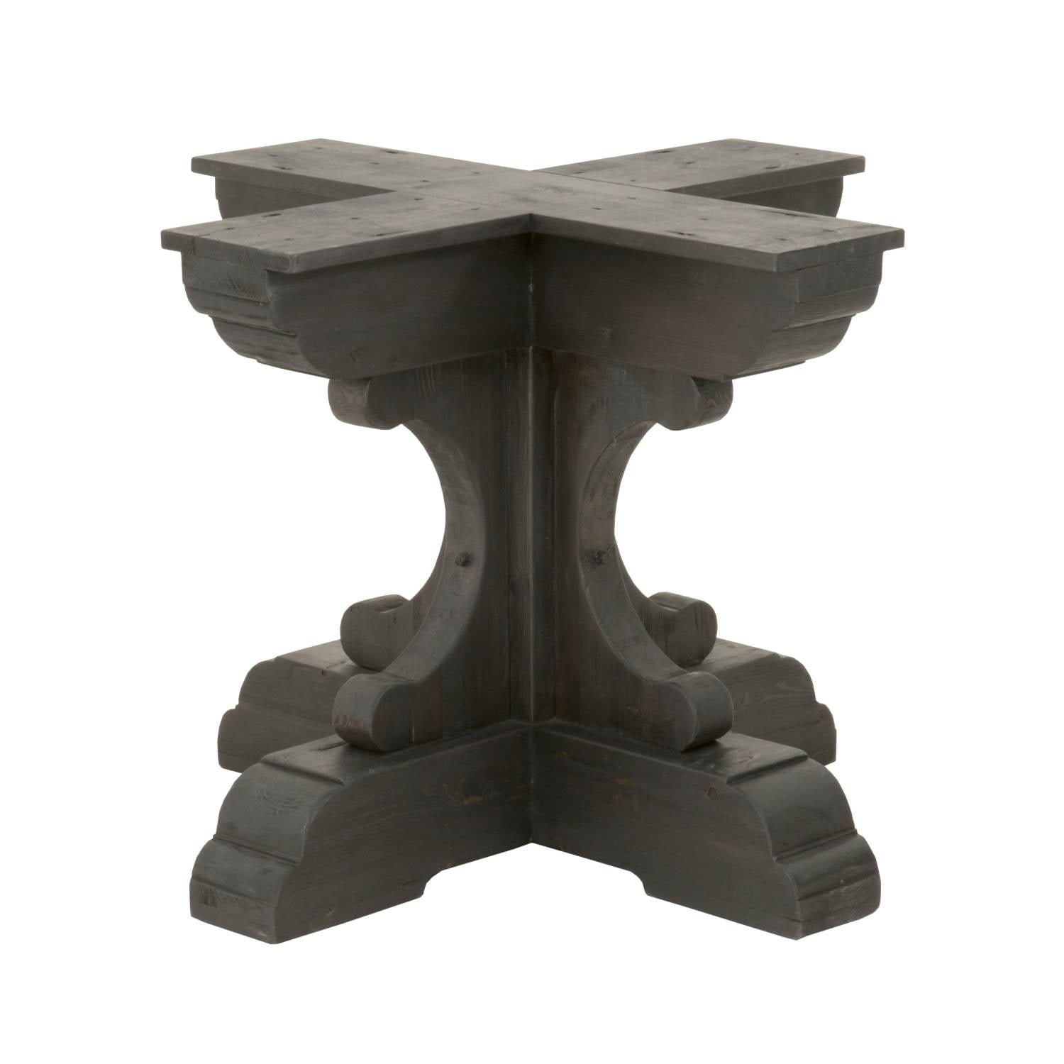 Orient Express Furniture Bastille Round Dining Table Base 8078 RD.BW PNE