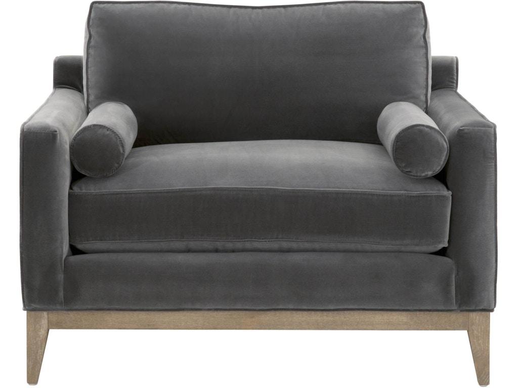Parker Post Modern Sofa Chair 6602 1 Ddov Ng