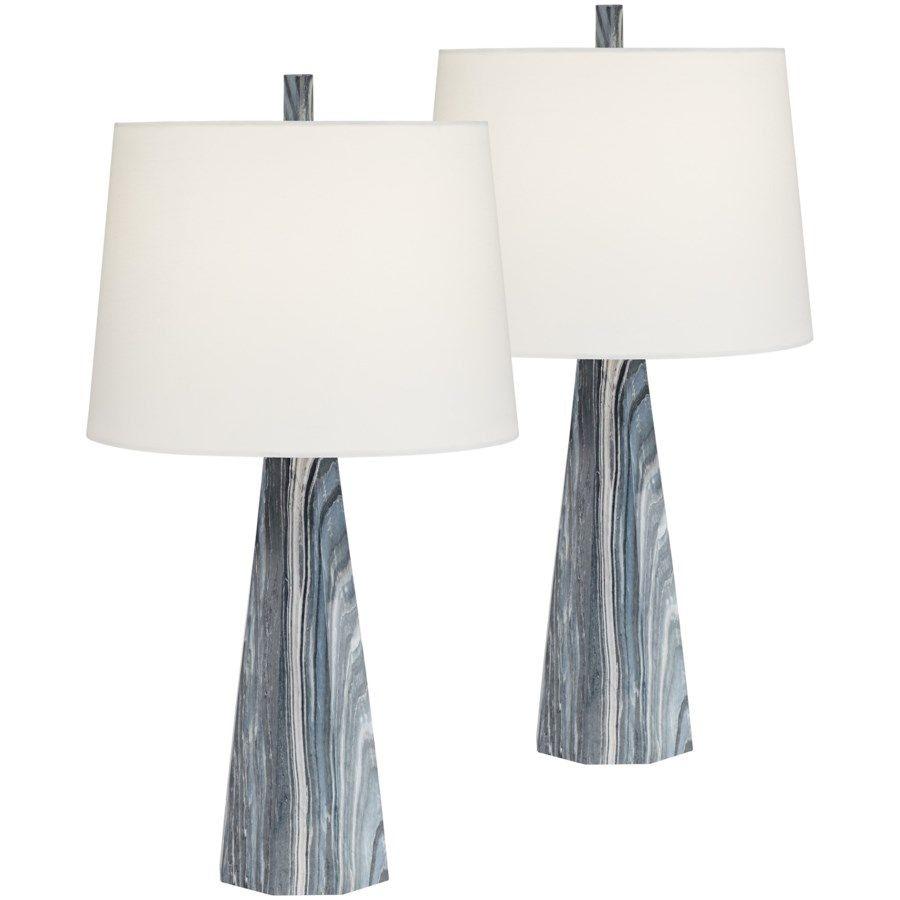 Bluestone Table Lamp Set Of Two 55j30