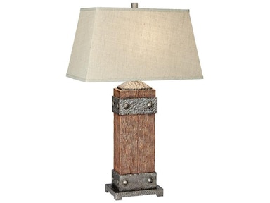Pacific Coast Lighting Rockledge Table Lamp 87-6778-9G