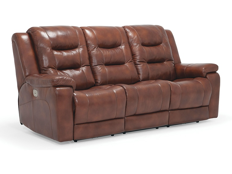 Palliser Furniture Living Room Sofa Power Recliner With Power