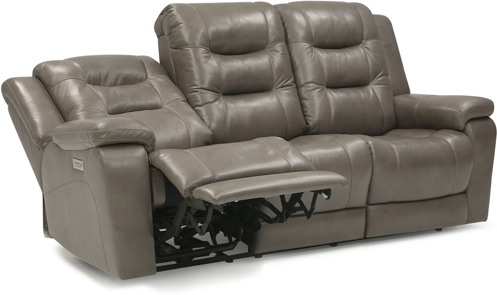 Palliser Furniture Living Room Leather Sofa Power With