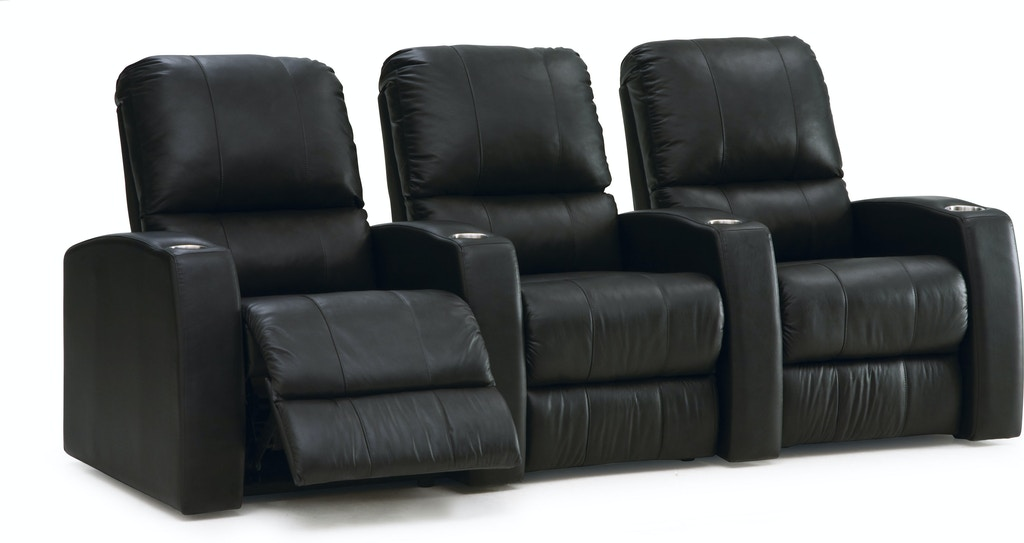 Palliser Furniture Home Entertainment Armless Loveseat Manual Recliner Theatre Seating 41920 4r