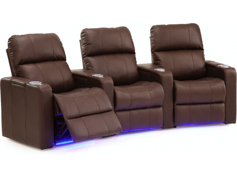 Palliser Furniture Home Entertainment Armless Manual Recliner Theatre Seating 41952 8r Indiana