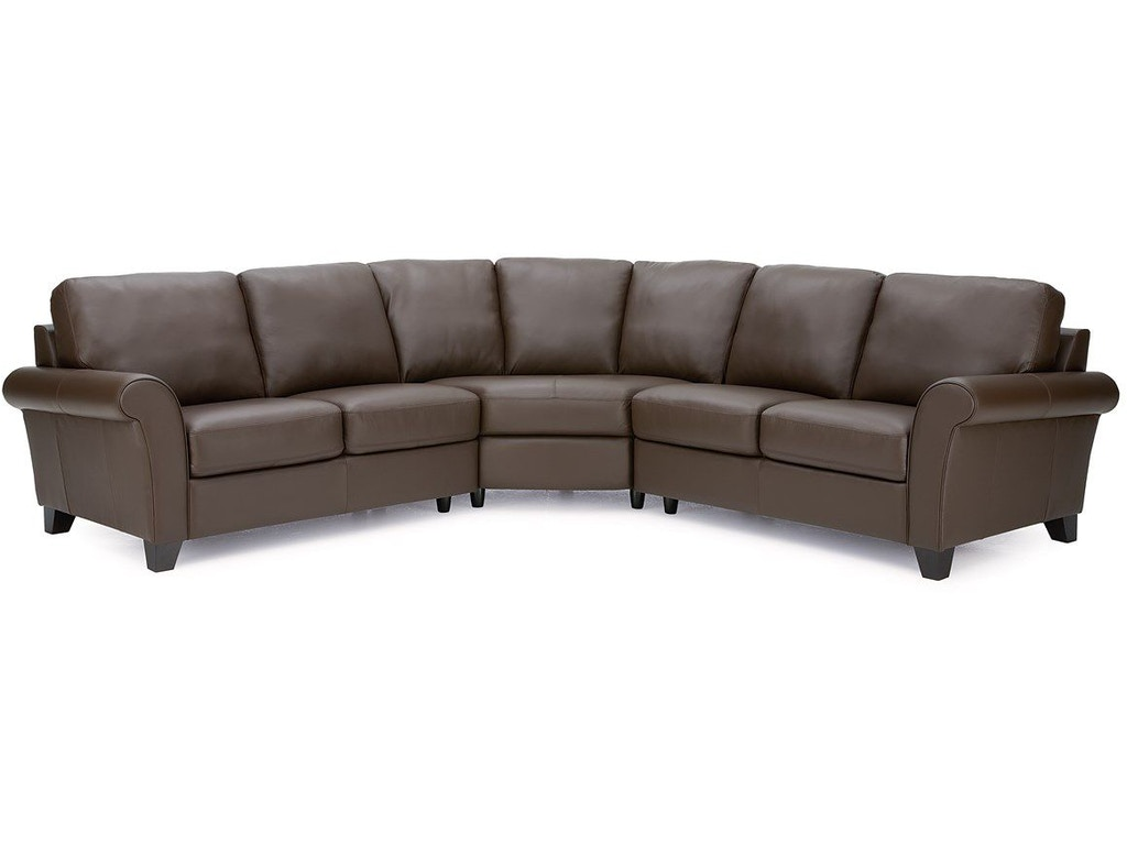 Palliser furniture living room 77429 sectional bacons for Furniture 77429