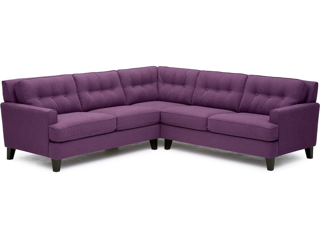 Palliser furniture living room barbara sectional 77575 for Furniture anchorage