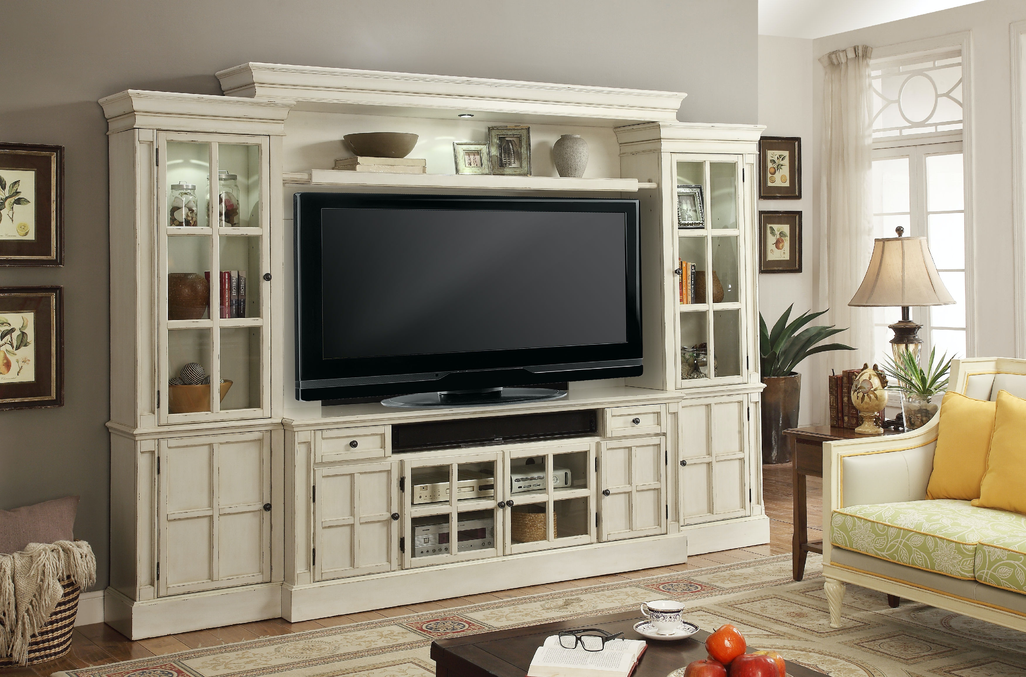 Charming Parker House 4 Piece 72 Inch Entertainment Wall CHA 172 4