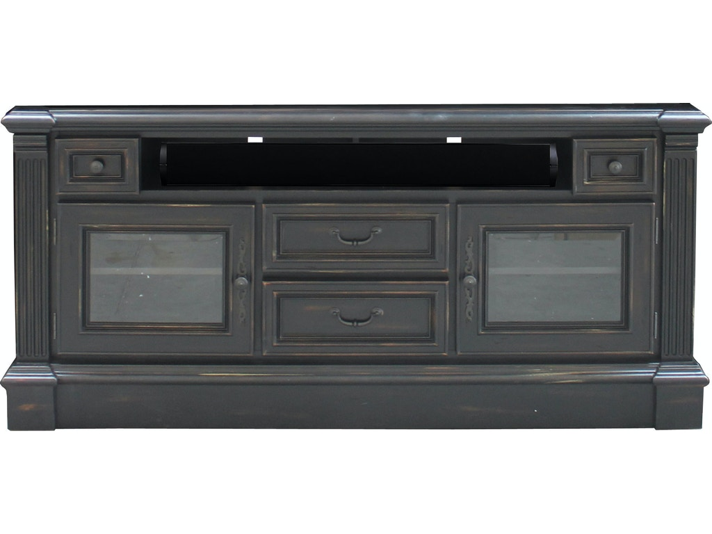 Parker house home entertainment 65 inch tv console fai 63 for Furniture 65