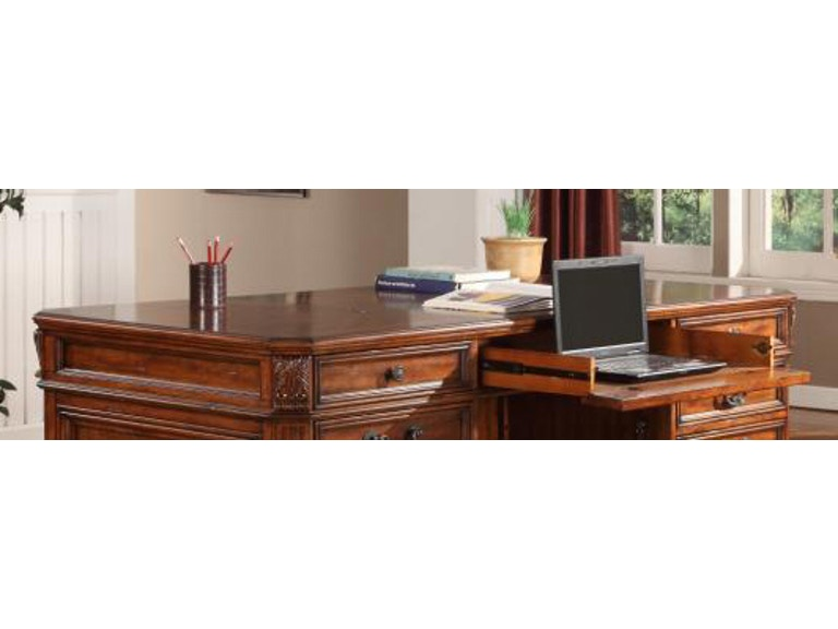 Magnificent Parker House Home Office Executive Desk Top Ggra 9080 Home Interior And Landscaping Mentranervesignezvosmurscom