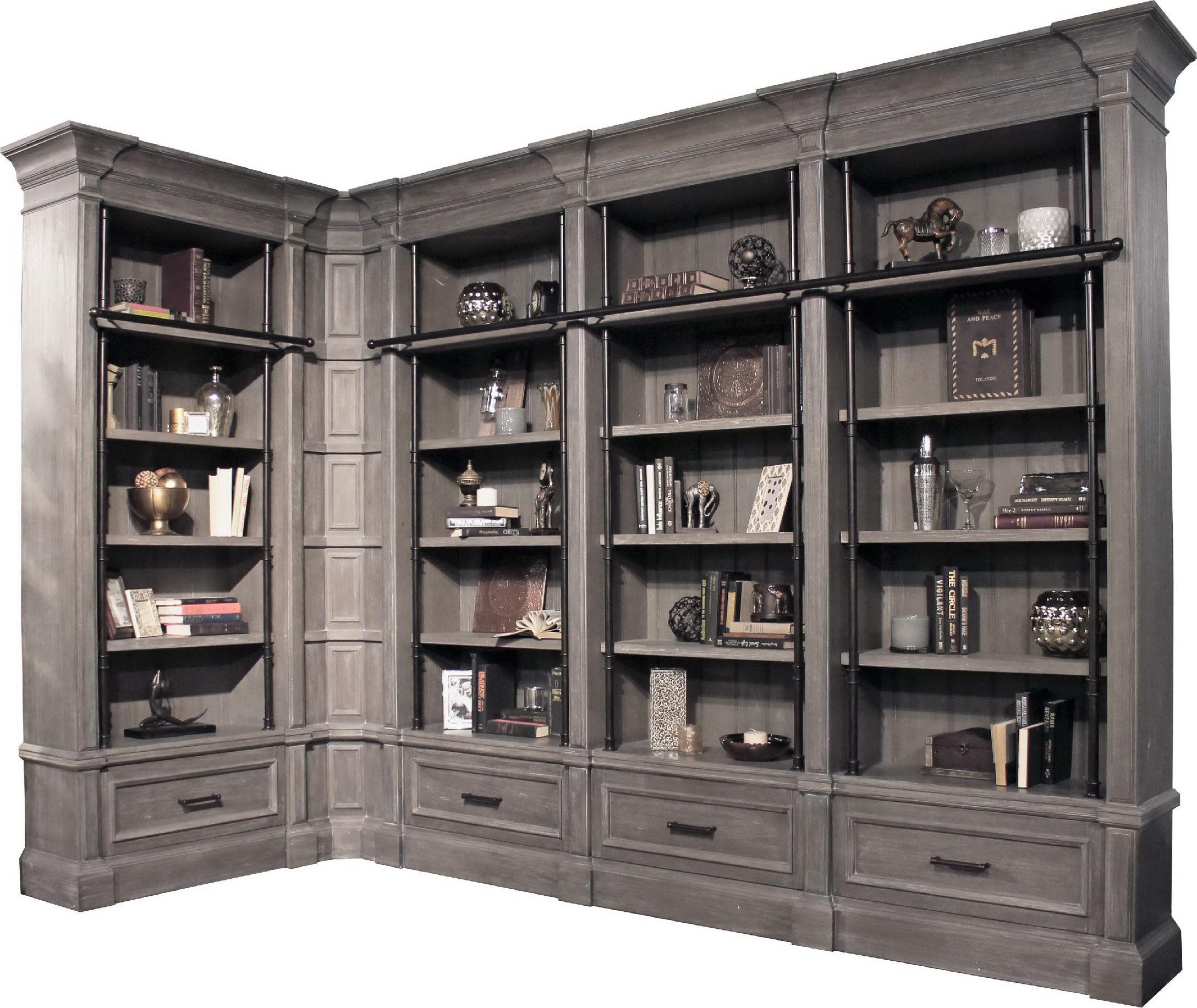 Parker House 3 Piece Museum Bookcase (#9030 U0026 2  #9031) GRAM