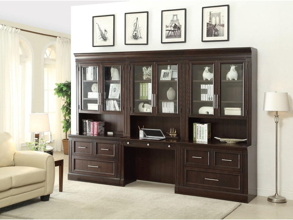 Parker House Home Office 2 Piece Lateral File & Hutch STA-476-2
