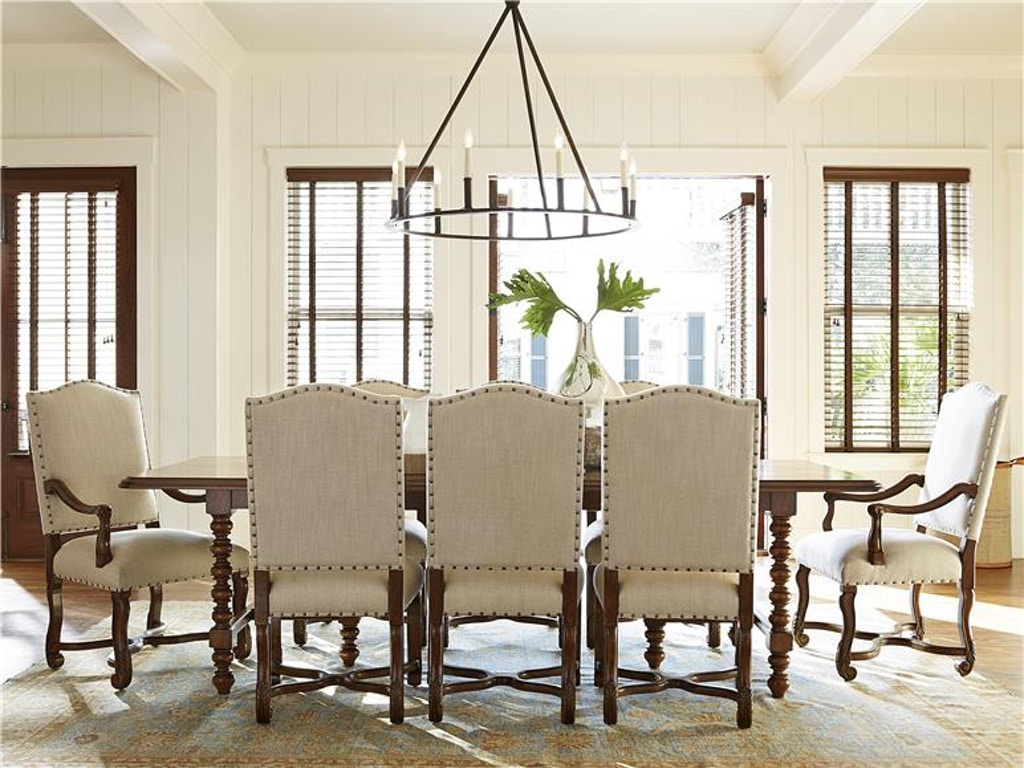 Paula Deen By Universal Dining Room Dogwood Dinner Table 596655