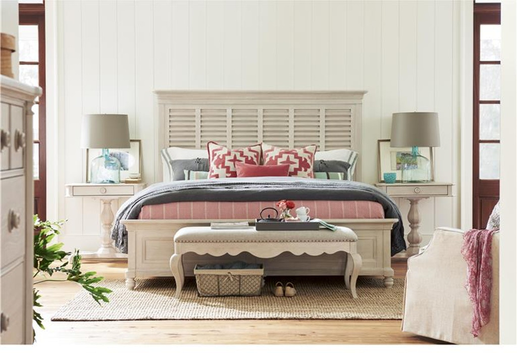 Paula Deen By Universal Bedroom Bed End Bench 795380