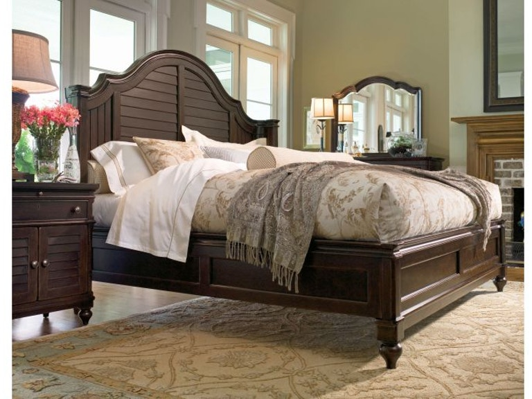 Paula Deen By Universal Bedroom Complete 5 0 Bed With Rails 932210b Indian River Furniture