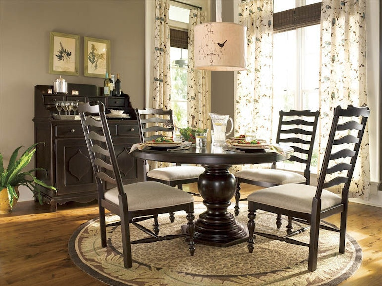 Paula Deen By Universal Dining Room Round Pedestal Table 932655