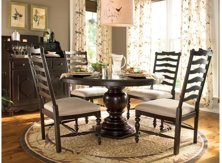 Paula Deen By Universal Dining Room Pedestal Table Base