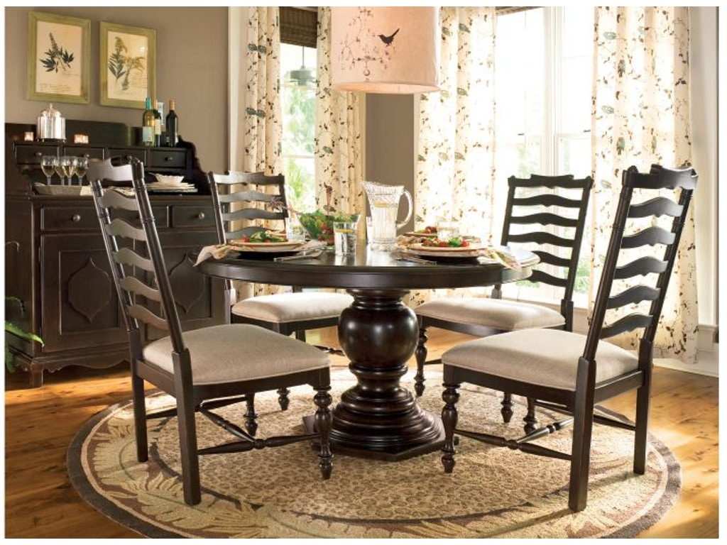 paula deen by universal dining room complete table 932655 goldsteins furniture bedding. Black Bedroom Furniture Sets. Home Design Ideas