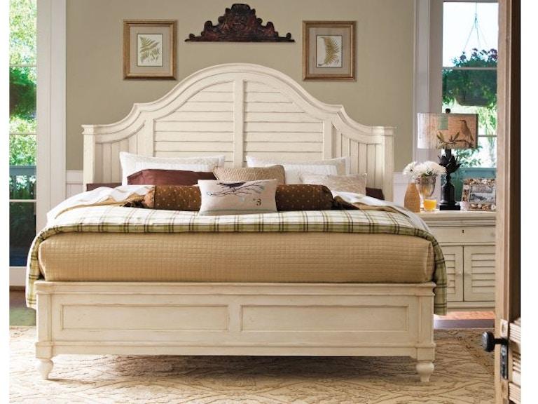 Paula Deen By Universal Bedroom Complete 6 6 Bed With Rails 996220b Woodbridge Interiors San