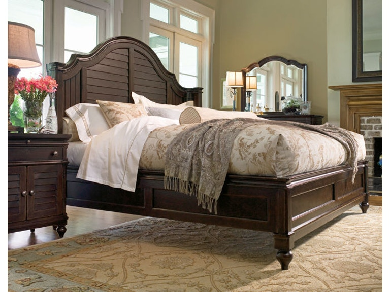 Paula Deen by Universal Bedroom Steel Magnolia Headboard 6/6 996220 ...