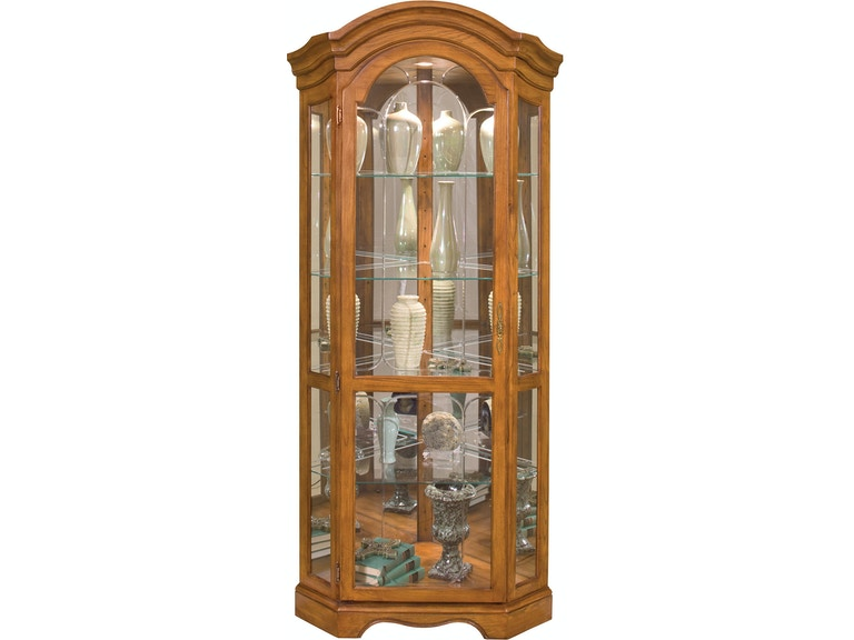 Philip Reinisch Living Room Barrington Corner Curio Cabinet 86951 ...