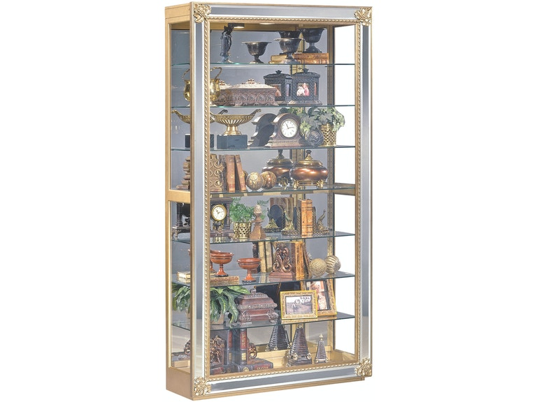 Philip Reinisch Living Room Reflection Curio Cabinet 81579