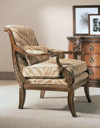 Henredon Living Room Ferguson Chair H0081   Bacons Furniture   Port  Charlotte, FL