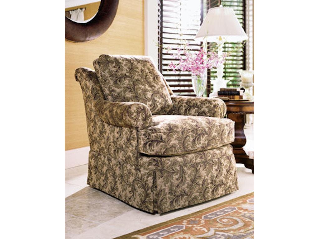 Henredon Living Room Joslin Chair H0109 Stowers