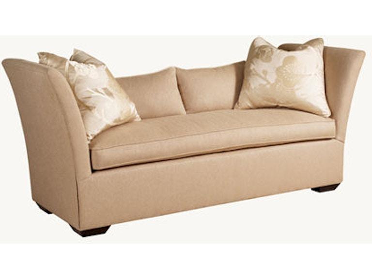 Short Sofa 83 Off Henredon Fireside Short Beige 3 Seater