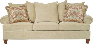 Henredon Living Room Fireside Sofa H1700 C Hickory