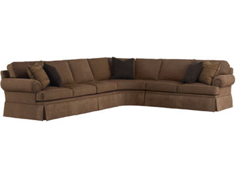 Henredon Fireside Half Sofa Sect H1000 Sectional