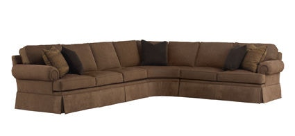 Attrayant Henredon Fireside Half Sofa Sect H1000 Sectional