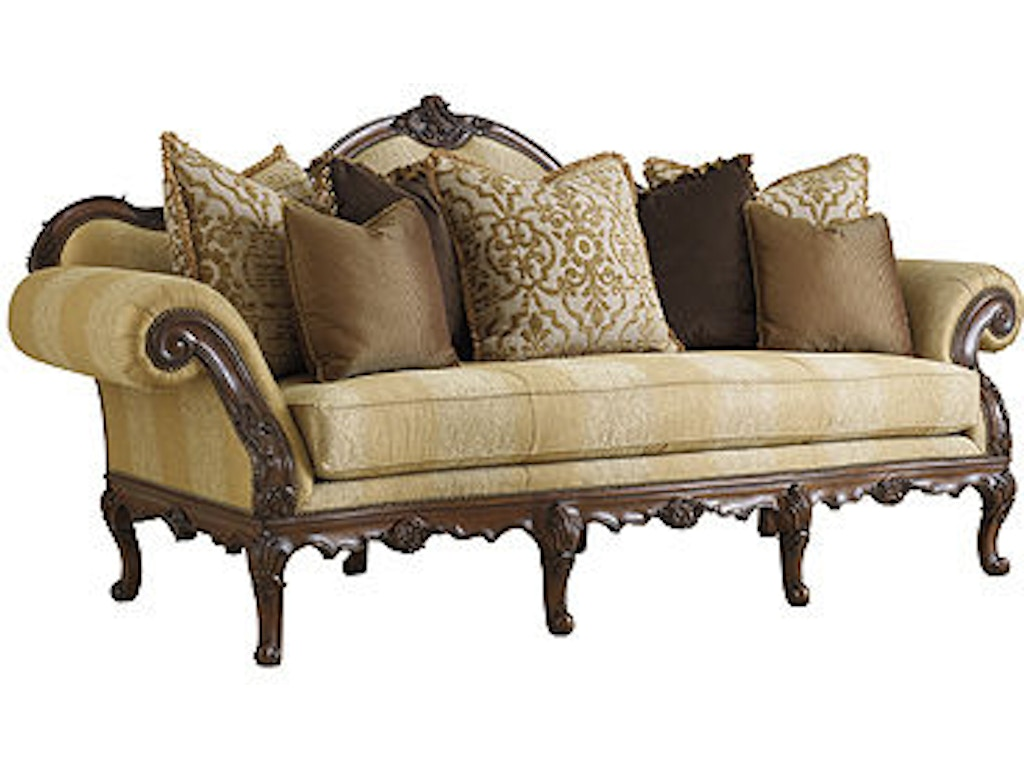 Florence sofa henh1110c for Walter e smithe living room furniture