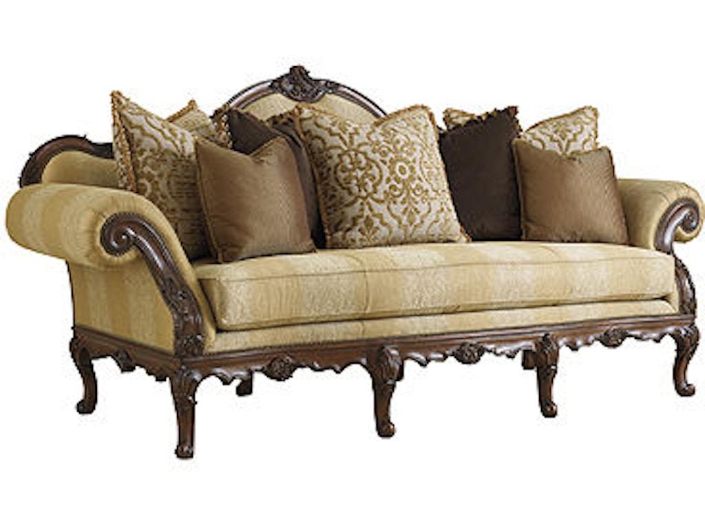 Walter E Smithe Living Room Furniture Of Florence Sofa Henh1110c