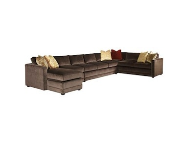 Henredon Sutton Place Sectional H1160-Sectional