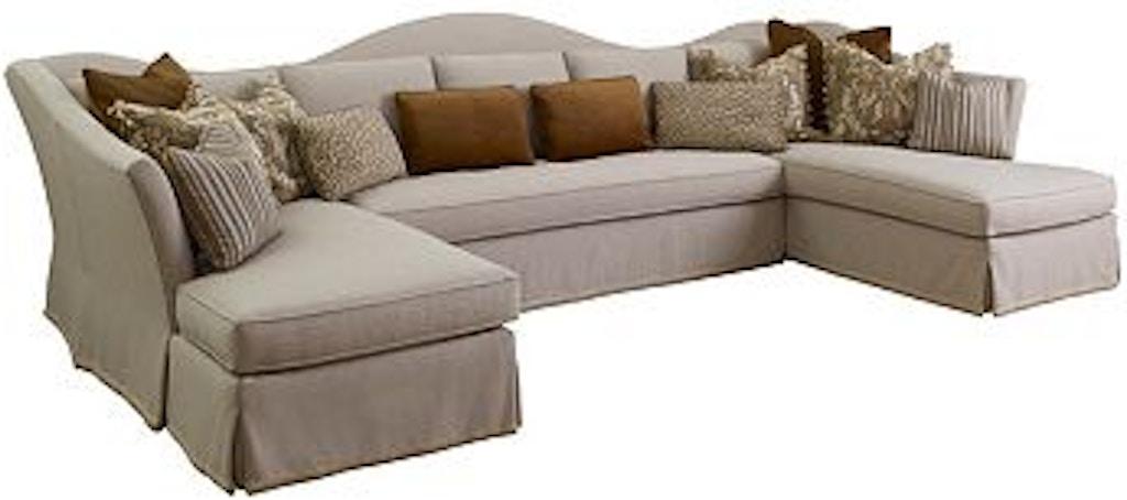 Henredon Living Room Sedona Sectional H1359 At Elite Interiors