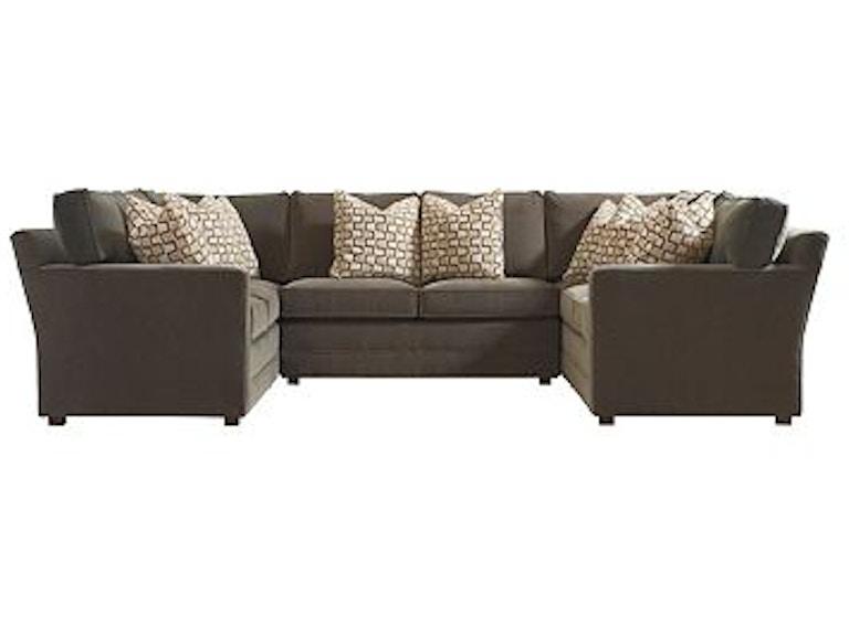 Henredon Fireside Half Sofa Sectional H1700