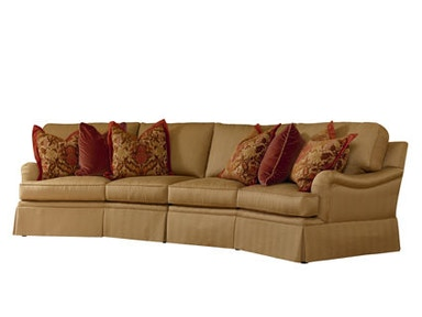Henredon Fireside Angle Half Sofa (Two Seats) H2700-LW