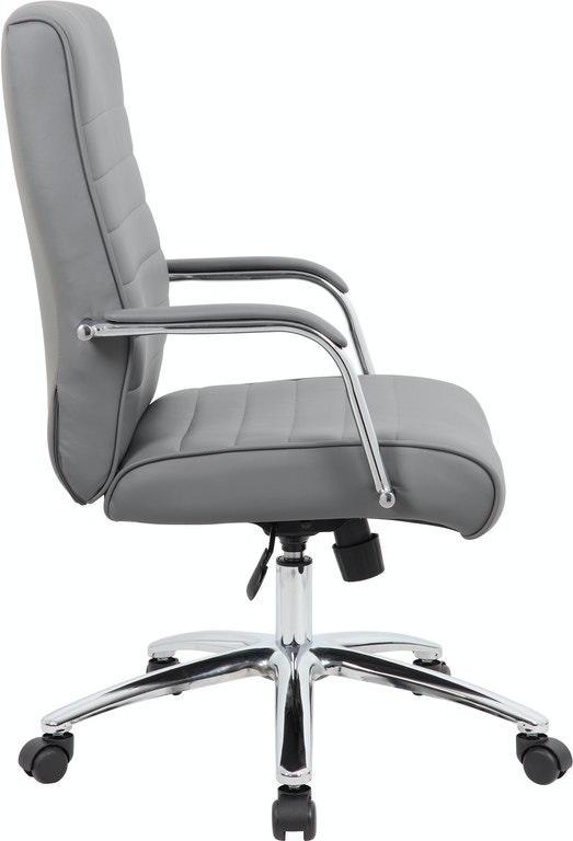 Pictures On Bpss White Modern Executive Conference Chair