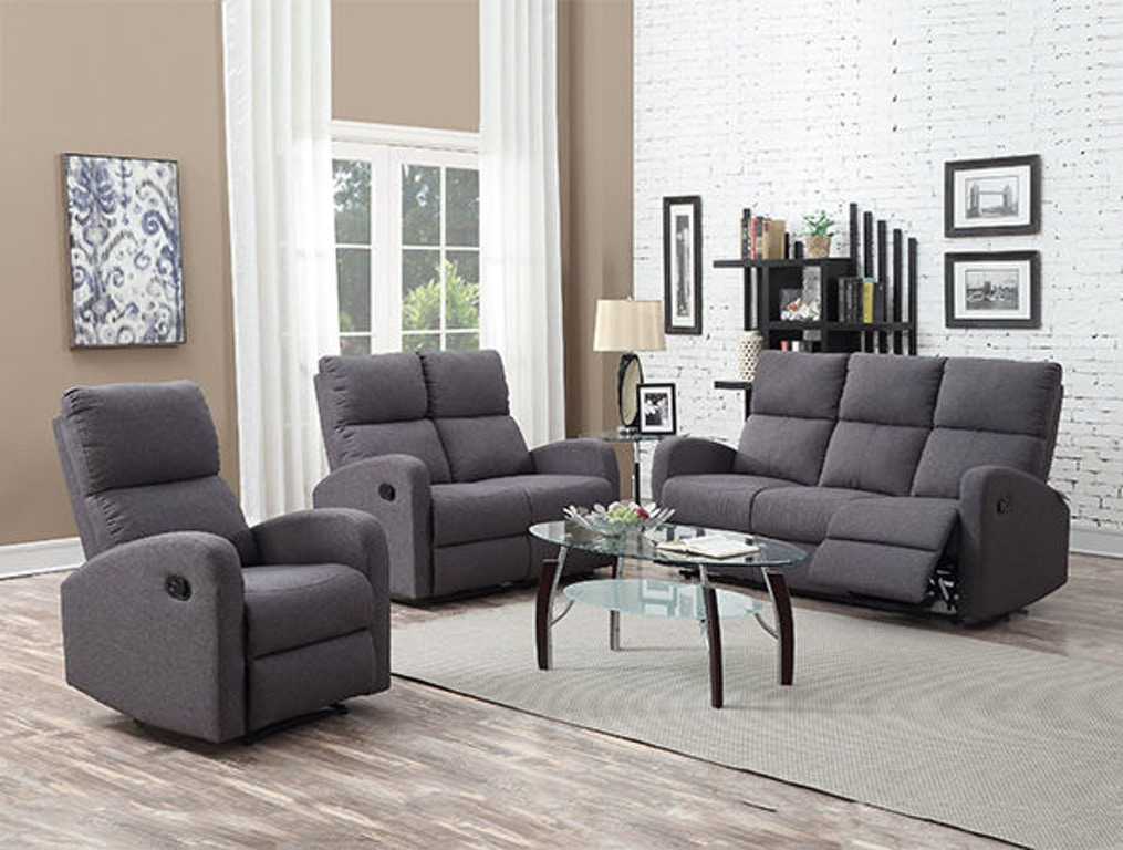 Primo International Living Room Contemporary Motion Sofa Group Delano - Simply Discount Furniture